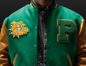 Letterman Jackets with Genuine Leather Sleeves