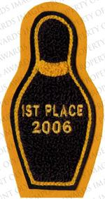 Bowling Patch for Jacket