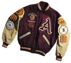 Letterman Jackets, Varsity Jackets, and Custom Letter Jackets